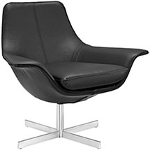Release Bonded Leather Lounge Chair