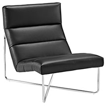 Reach Vinyl Lounge Chair