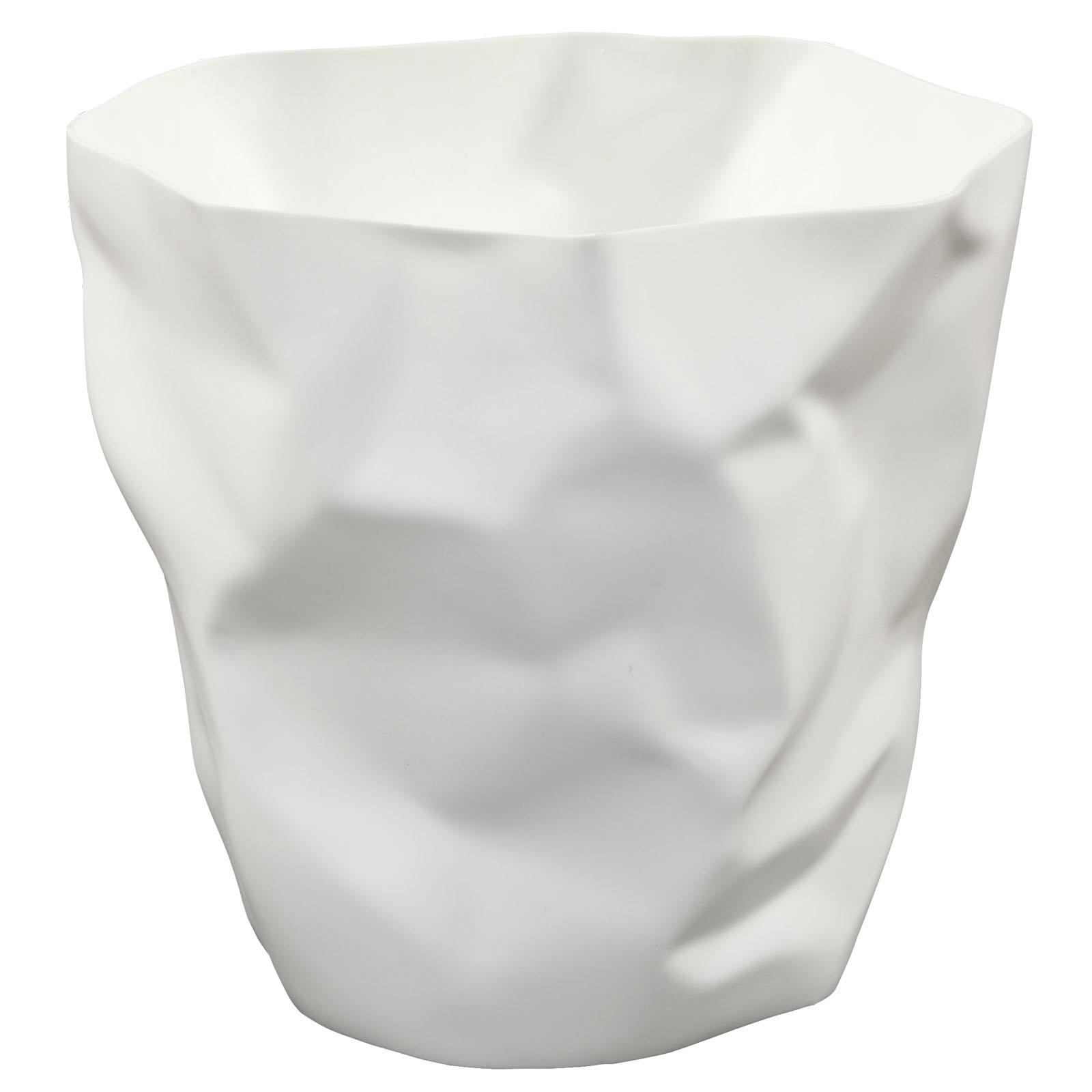 Lava Trash Bin White EEI-1022-WHI