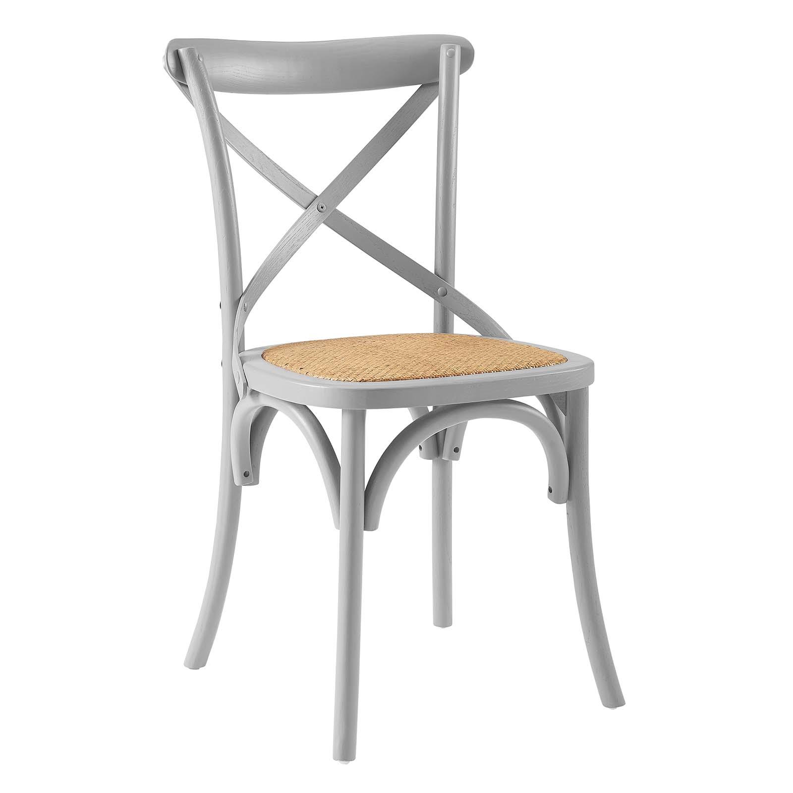 Gear Dining Side Chair Light Gray EEI-1541-LGR