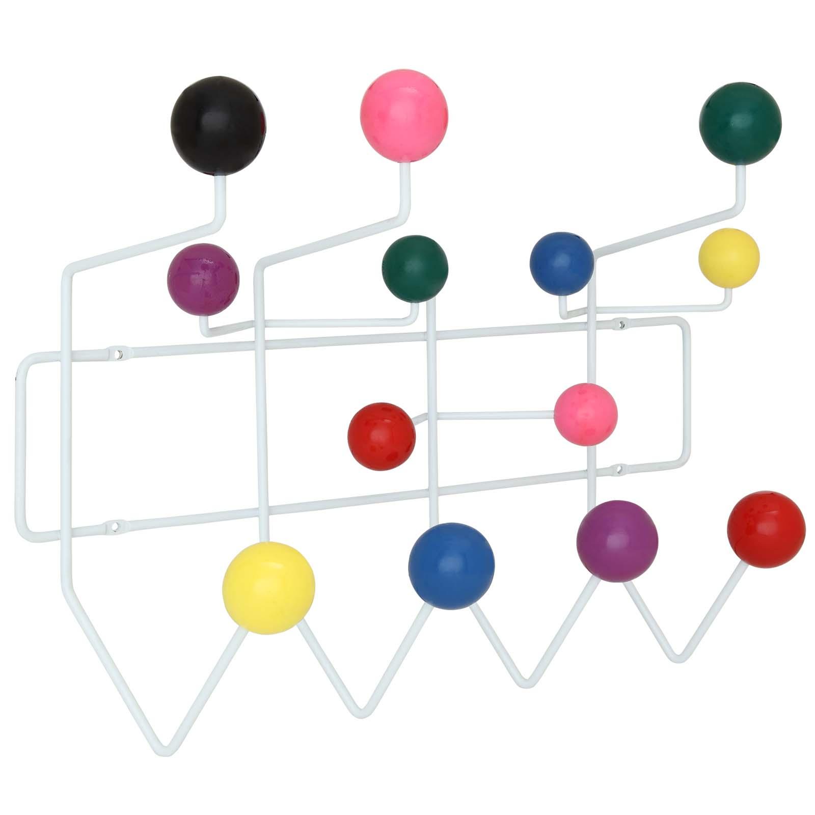 Gumball Coat Rack Multicolored EEI-216-MULTI