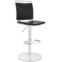 Fuse Adjustable Armless Bar Stool