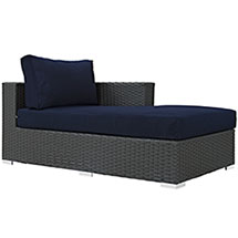 Sojourn Outdoor Patio Fabric Sunbrella® Right Arm Chaise