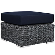 Summon Outdoor Patio Sunbrella® Ottoman