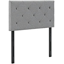 Terisa Twin Upholstered Fabric Headboard