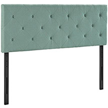 Terisa Queen Upholstered Fabric Headboard