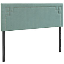 Josie King Upholstered Fabric Headboard